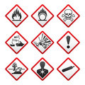 New safety symbols Royalty Free Stock Photos
