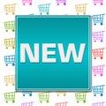 New Shopping Cart Background