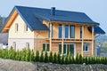 New Single Family House Royalty Free Stock Photo