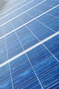 New Solar panel collector Royalty Free Stock Photo