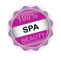 New spa icon Stock Photos