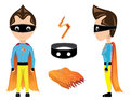 New superman he is the brand to entertain kids Royalty Free Stock Photos