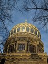 New synagogue in Berlin Royalty Free Stock Photo
