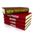 The New Testament books Royalty Free Stock Photo
