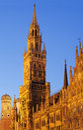 New Town Hall in Marienplatz, Munich, Germany Royalty Free Stock Photos
