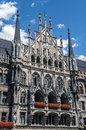 New Town Hall on Marienplatz in Munich, Germany Royalty Free Stock Photo
