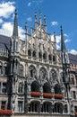 New Town Hall on Marienplatz in Munich, Germany Royalty Free Stock Photo
