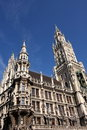 New town hall, Munich Royalty Free Stock Photography