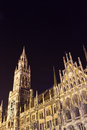 New Town Hall in Munich, Bavaria, Germany Royalty Free Stock Photos