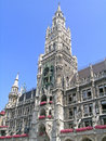 New town hall munich the is a at the northern part of marienplatz in bavaria germany it hosts the city government Royalty Free Stock Photos