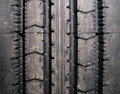 New Truck Tire Tread Pattern Background Stock Photography