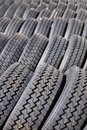 New truck tires Royalty Free Stock Image