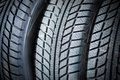 New tyres Royalty Free Stock Photo