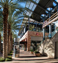 New upscale retail shopping modern area at scottsdale quarter in scottsdale arizona Royalty Free Stock Photos