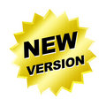 New Version Sign Royalty Free Stock Photo