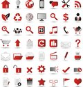 New web icons Royalty Free Stock Photo