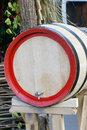 New wooden wine barrel Royalty Free Stock Image