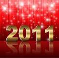 New Year 2011 background Stock Photography