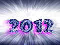 New Year 2012 celebrations, Royalty Free Stock Image