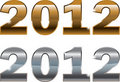 New Year 2012 design Stock Photography