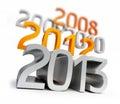 New year 2013 Royalty Free Stock Photo