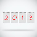 New year 2013 Stock Photo