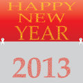 New year 2013. Stock Photos