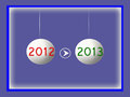 New year 2013 Royalty Free Stock Photography