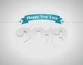 New year (2013) Royalty Free Stock Photo