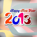 New Year 2013 card design Royalty Free Stock Images