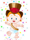 New Year baby Royalty Free Stock Image