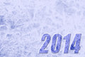 New year background happy ice Royalty Free Stock Photography