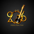 New Year 2016 Background. Vect...