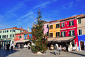 New Year in Burano Royalty Free Stock Photography