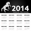 New year calendar vector illustration this is file of eps format Stock Image