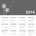 New year calendar vector illustration this is file of eps format Stock Images