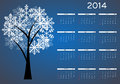 New year calendar vector illustration this is file of eps format Stock Photography