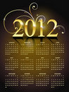 New year calender Royalty Free Stock Photo