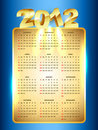 New year calender Stock Photography