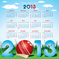 New year calender Stock Images