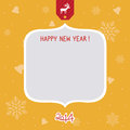 New year card for everyone Royalty Free Stock Photo