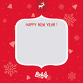 New year card for everyone Royalty Free Stock Images