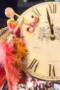 New year celebration twelve o clock on s eve Stock Photo