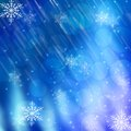 New year and christmas backgrounds snow Royalty Free Stock Photos