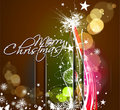 New year and christmas colorful design Royalty Free Stock Photos