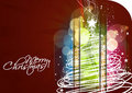 New year and christmas colorful design Royalty Free Stock Image