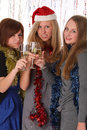 New year or christmas party Stock Photo