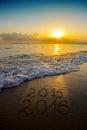 New Year 2016 . Royalty Free Stock Photo