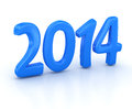 New year computer generated image d render Royalty Free Stock Photo