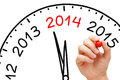 New Year 2014 Concept Royalty Free Stock Photo
